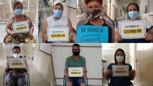 Sete pacientes se recuperam da Covid-19 e recebem alta hospitalar no fim de semana