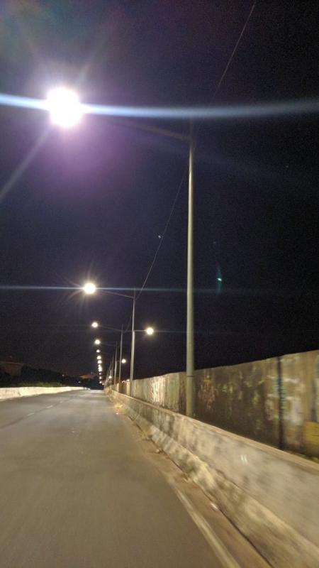 Viaduto Falcão-Bela Vista tem iluminação reposta