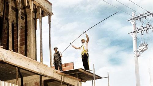 Energisa Sul-Sudeste orienta sobre segurança com a rede elétrica em construções e reformas