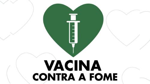 Vacina Contra a Fome já arrecadou mais de 20 toneladas de alimentos