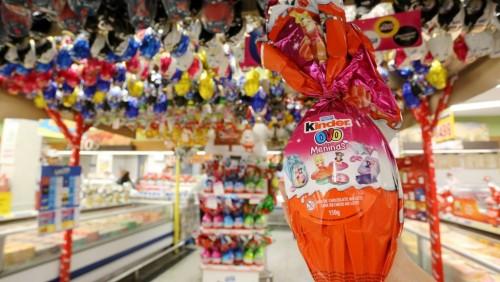Páscoa: supermecados reduzem a oferta de ovos de chocolate