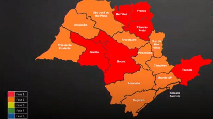 Assis permanece na fase vermelha e governador suspende feriado de Carnaval