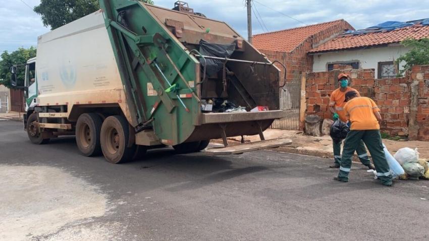 Coleta de lixo segue normalmente no feriado de 7 de setembro em Ourinhos