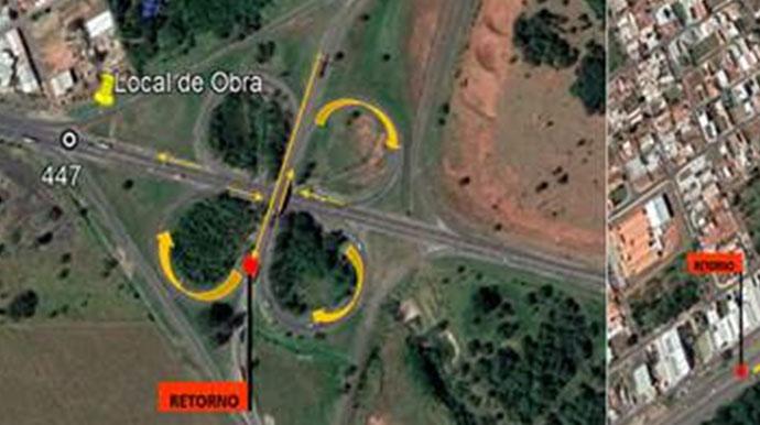 Manutenção interdita acessos da Raposo Tavares em Assis