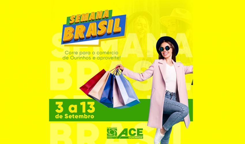 Semana Brasil começa nesta sexta-feira, 3, em Ourinhos