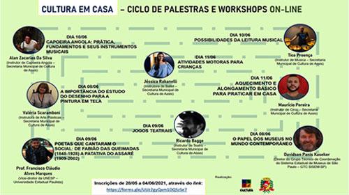 """Prefeitura de Assis promove """"Cultura em Casa"""""""